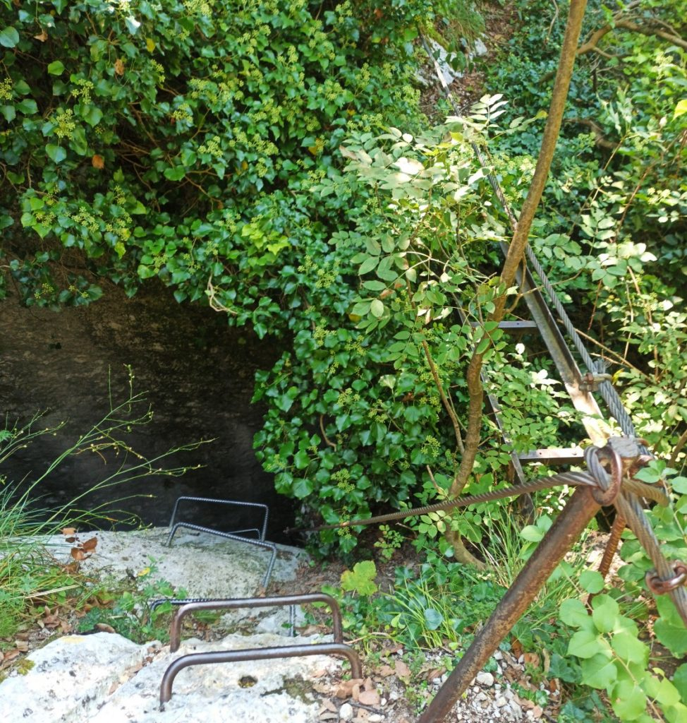 Wyjście awaryjne z ferraty Rio Sallagoni