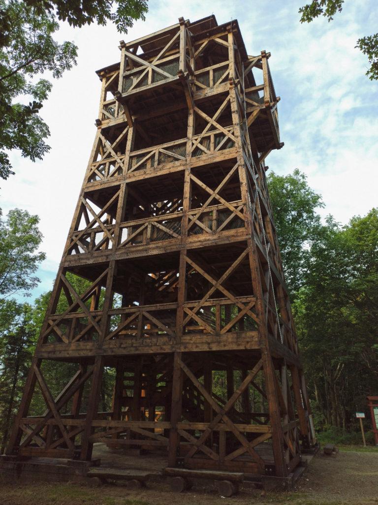Cergowa (716 m n.p.m.) - wieża widokowa